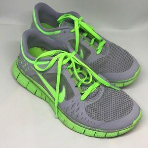 Green Machine Grey Green Nike Free 5.0 Sneakers